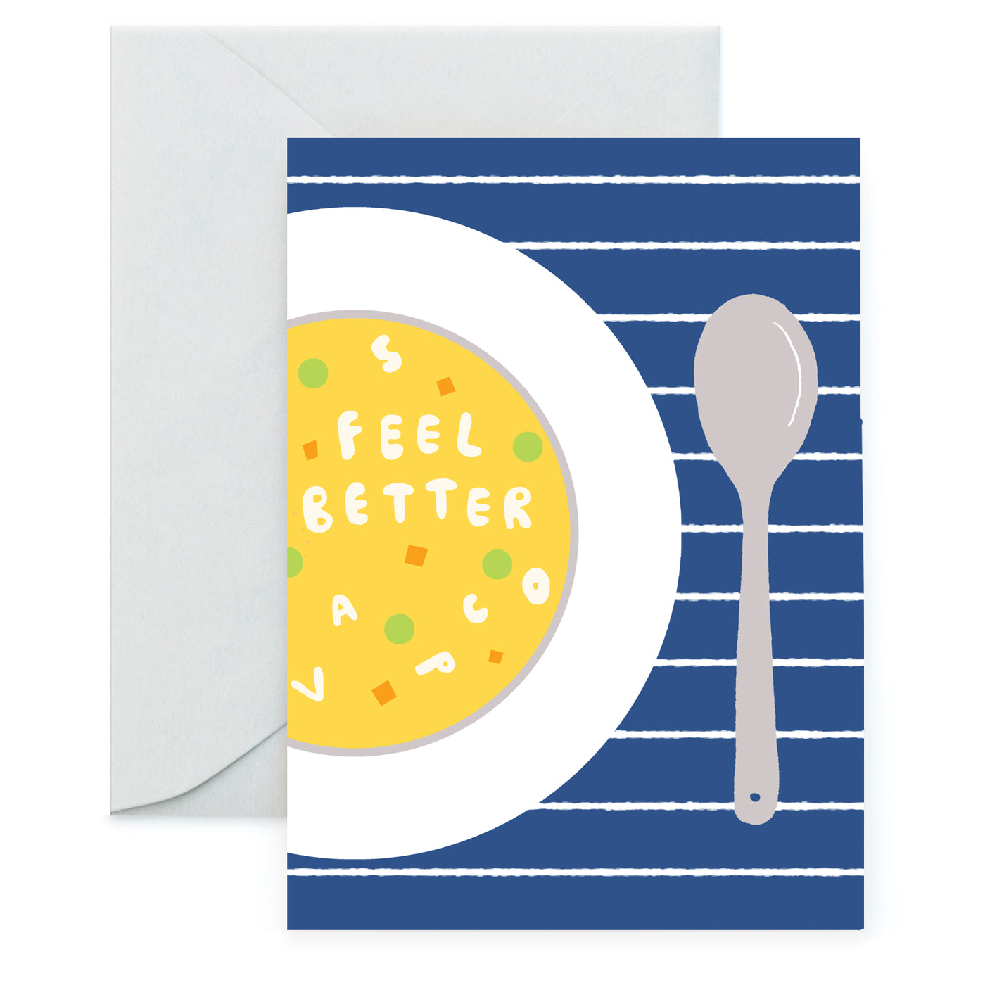 SOUP - Get Well Card
