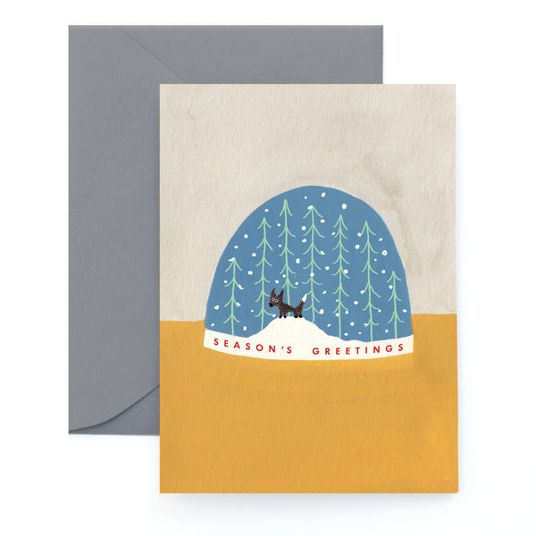 LITTLE SNOW GLOBE - Holiday Card