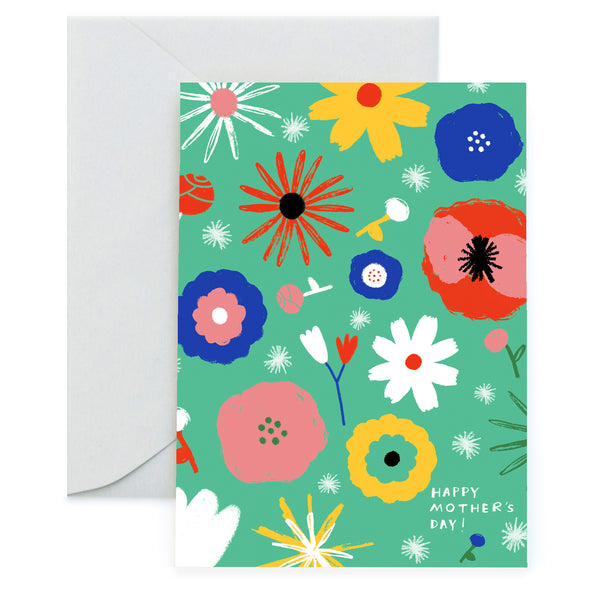 FLOWER POWER - Mother's Day Card