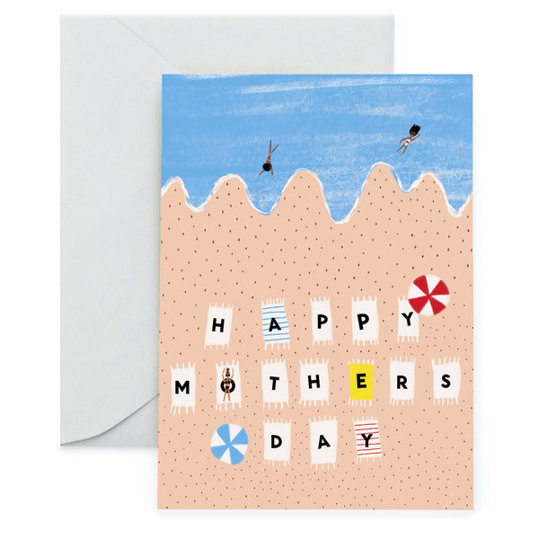 BEACH DAY FOR MOM - Mother's Day Card