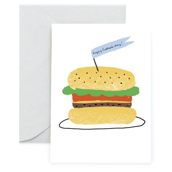 BURGER FOR DAD - Father's Day Card