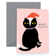MEOWY XMAS - Holiday Card