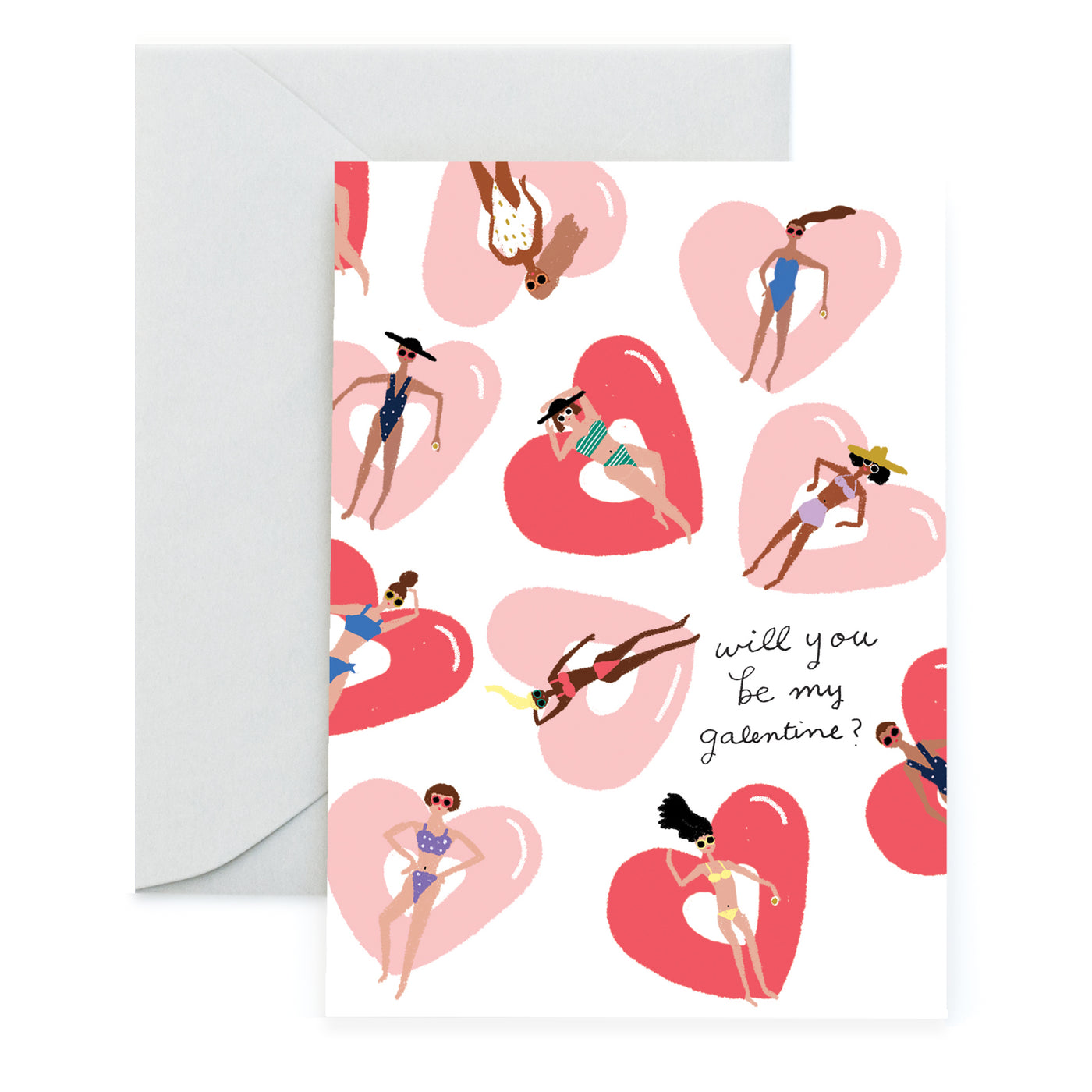 FLOATING FOREVER - Valentine Card