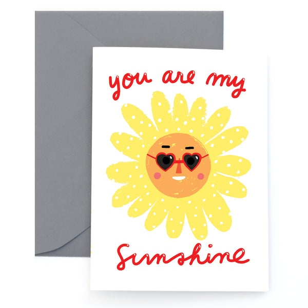SWEET RAYS - Greeting Card