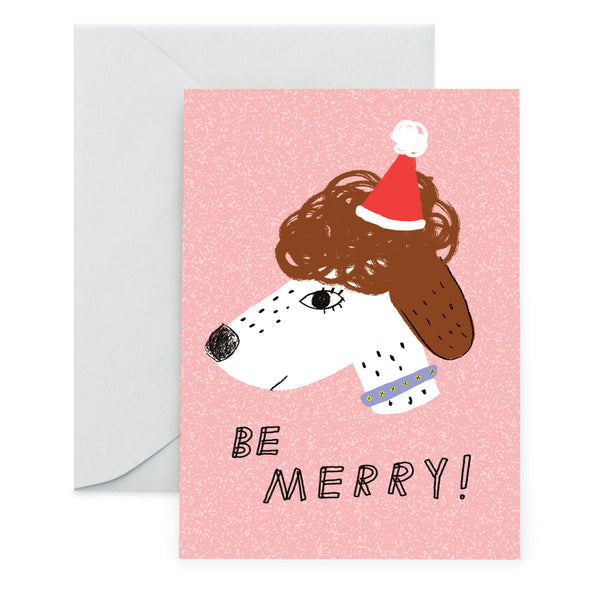 MERRY POOCH - Holiday Card
