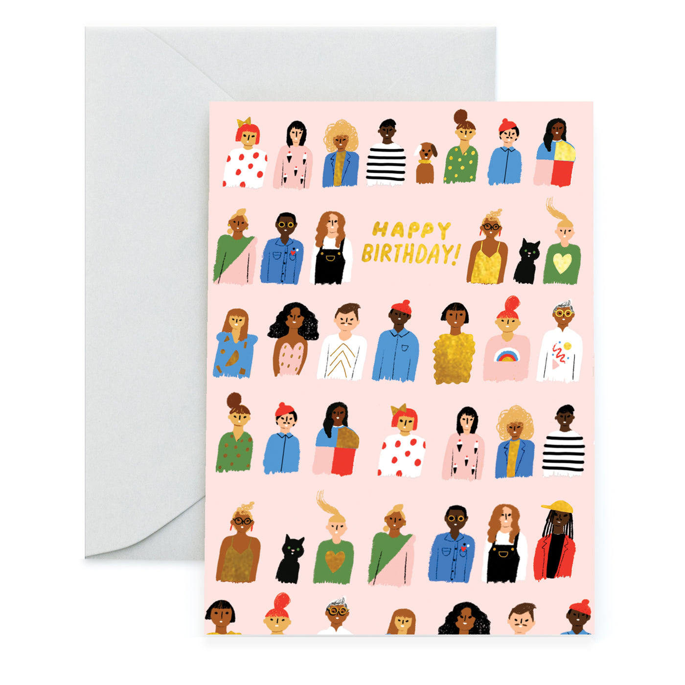 FRIENDS ARE FAMILY - Birthday Card
