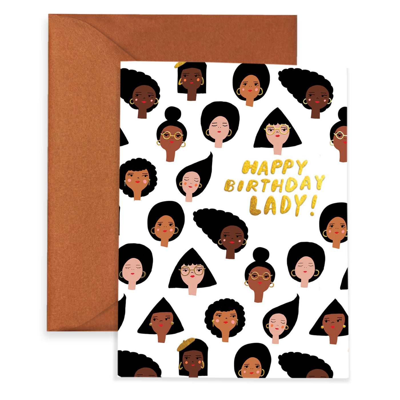 GEO GIRLS - Birthday Card