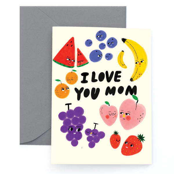 FRUIT FAM - Mother's Day Card