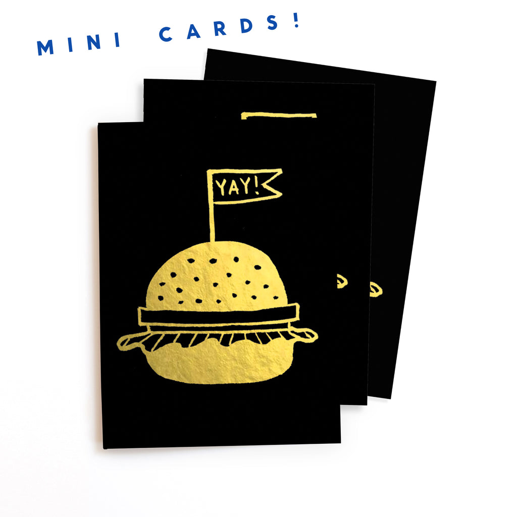 M401 - Golden Burger - Mini Cards