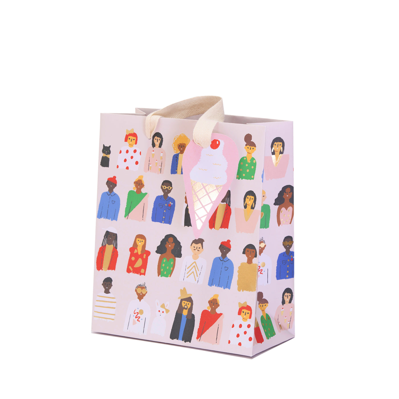 FRIENDS ARE FAMILY - Medium Gift Bag