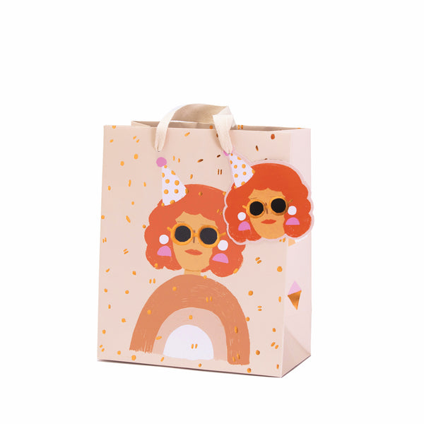 PARTY LADY - Medium Gift Bag