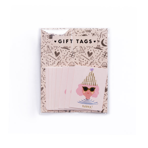PARTY GIRL - Mini Card Gift Tags