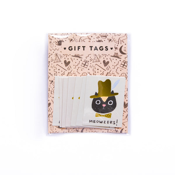 MEOWZERS! - Mini Card Gift Tags