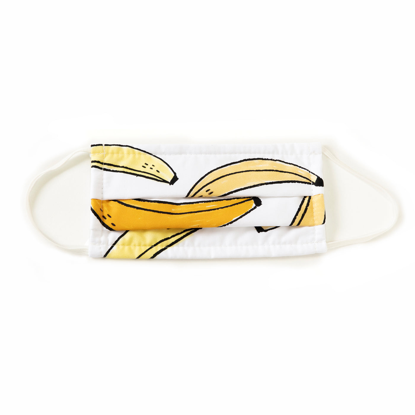 BANANAS MASK IN WHITE