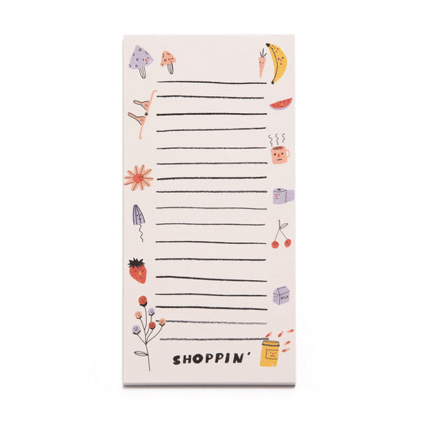 SHOPPIN' - Market Note Pad