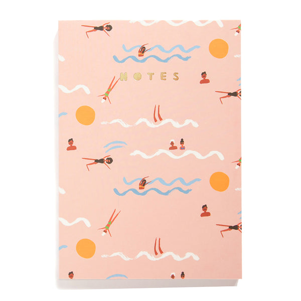 SWIMMERS - Large Notebook