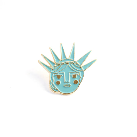 Lady Liberty - Enamel Pin