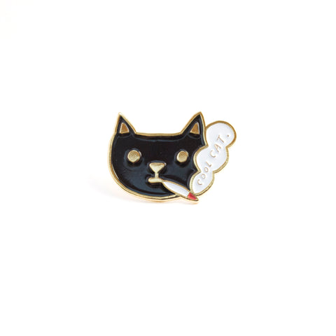 Cool Cat - Enamel Pin