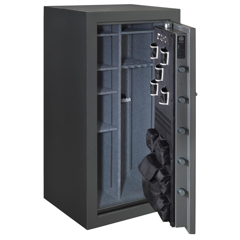 STACK-ON 36-40 GUN TOTAL DEFENSE SAFE WITH BIOMETRIC LOCK