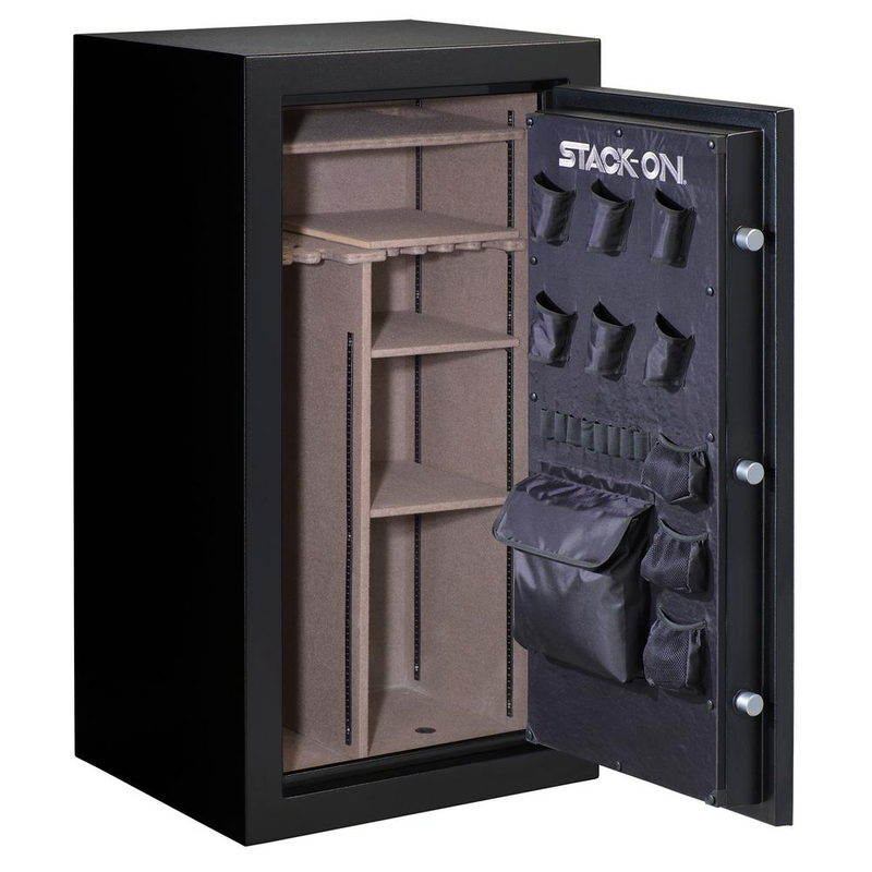 STACK-ON ARMORGUARD 40-GUN FIRE RESISTANT ELECTRONIC LOCK SAFE