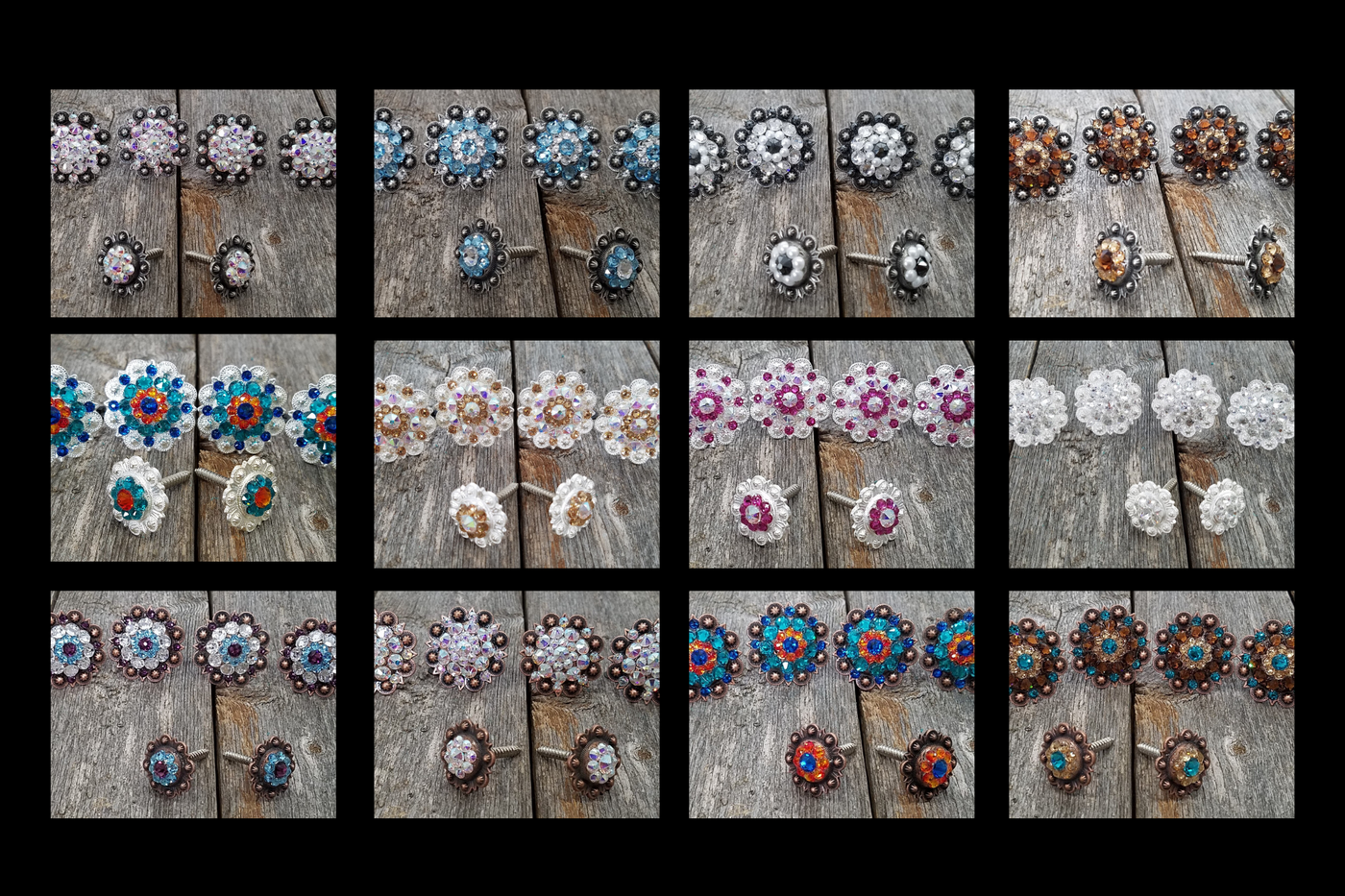 Saddle Conchos