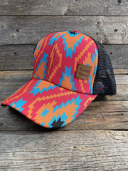 Hats Arizona Vibes  Ponytail Trucker Hat HT111 WR111