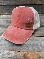 Hats Coral Ponytail Trucker Hat HT109 HT109