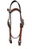 Floral V Browband Headstall / Bridle #BB1009