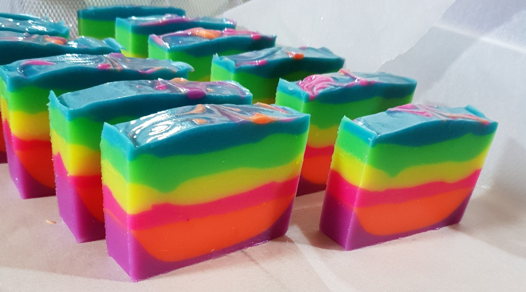 Rainbow Soap | Little Brown Goose