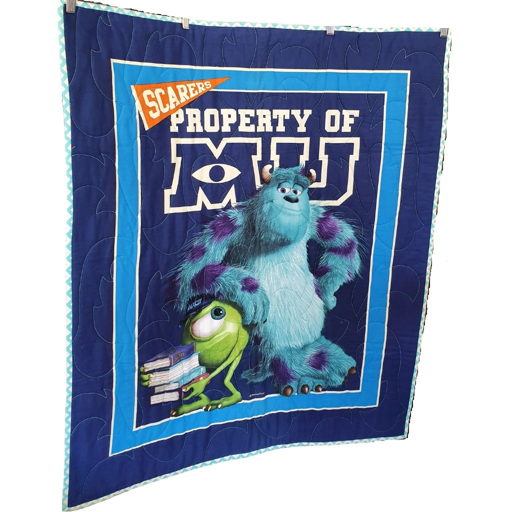 Monster Inc Quilt | Little Brown Goose