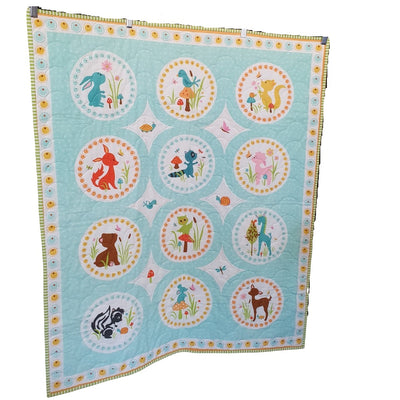 Animal Quilts | Little Brown Goose