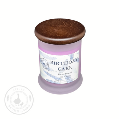 Soy Candles Birthday Cake