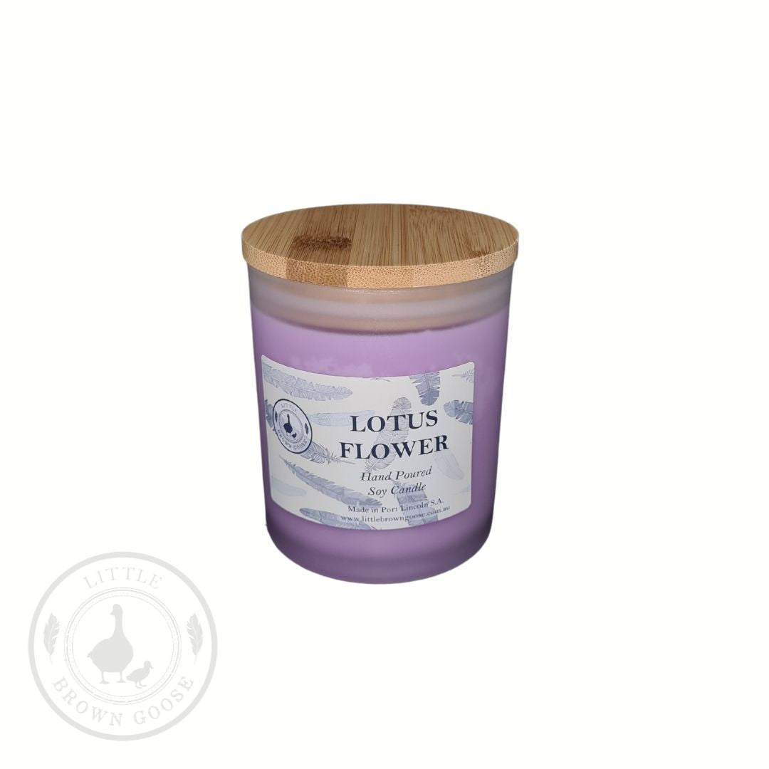Lotus Flower | Large Soy Candle