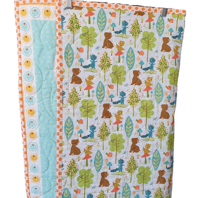 Woodland Loves Quilt | Little Brown Goose