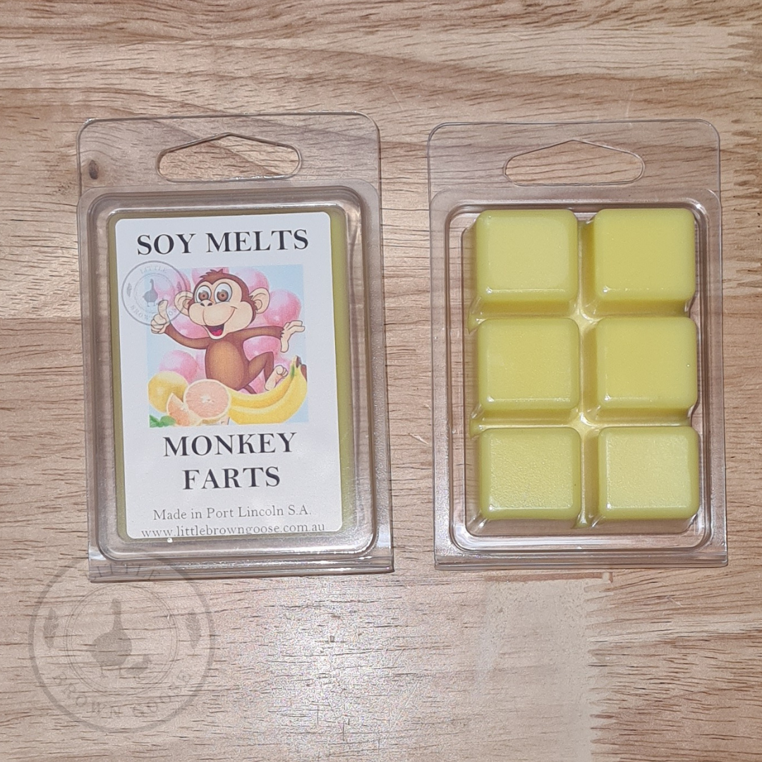 Wax Melts Soy Monkey Farts