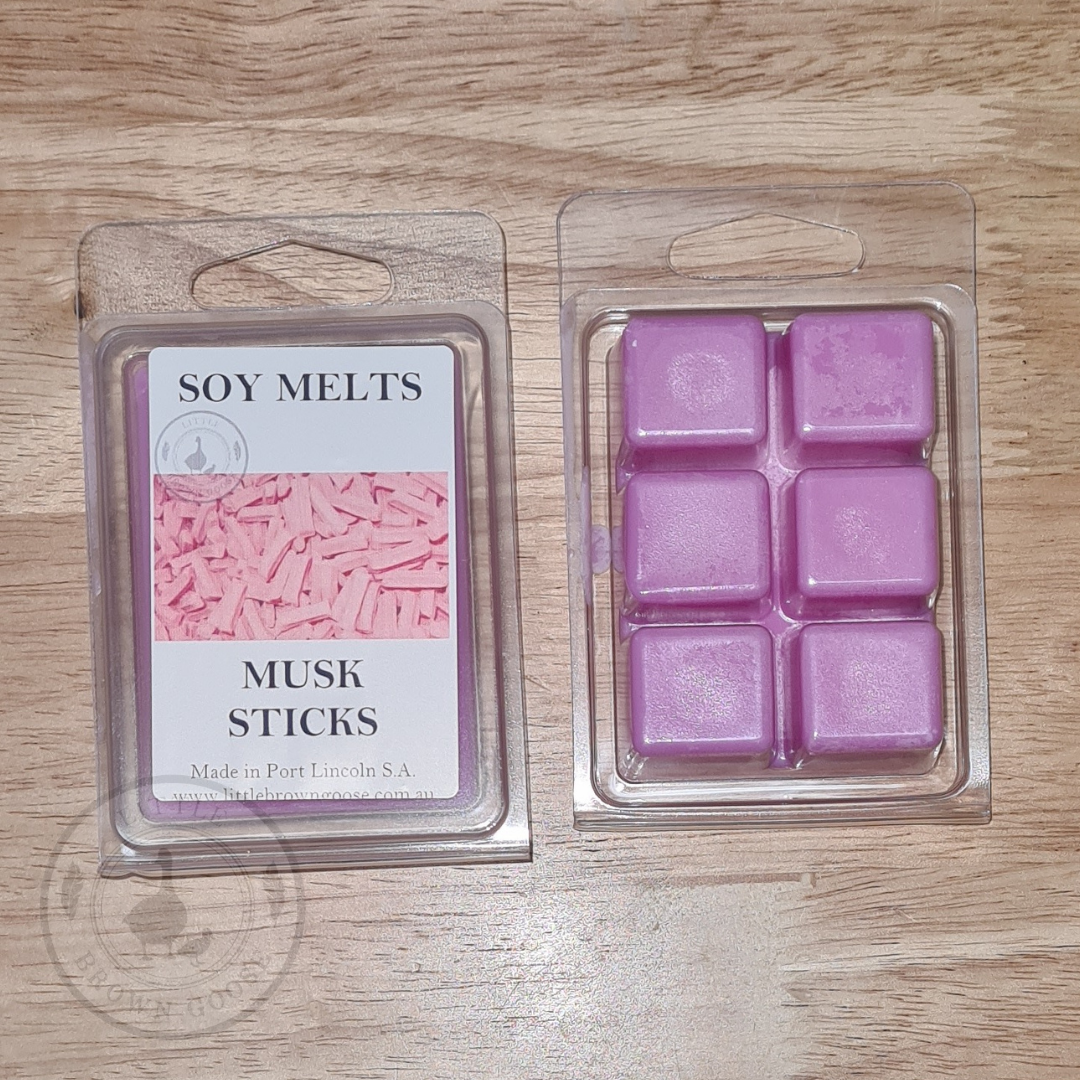 Musk Sticks Soy Wax Melts