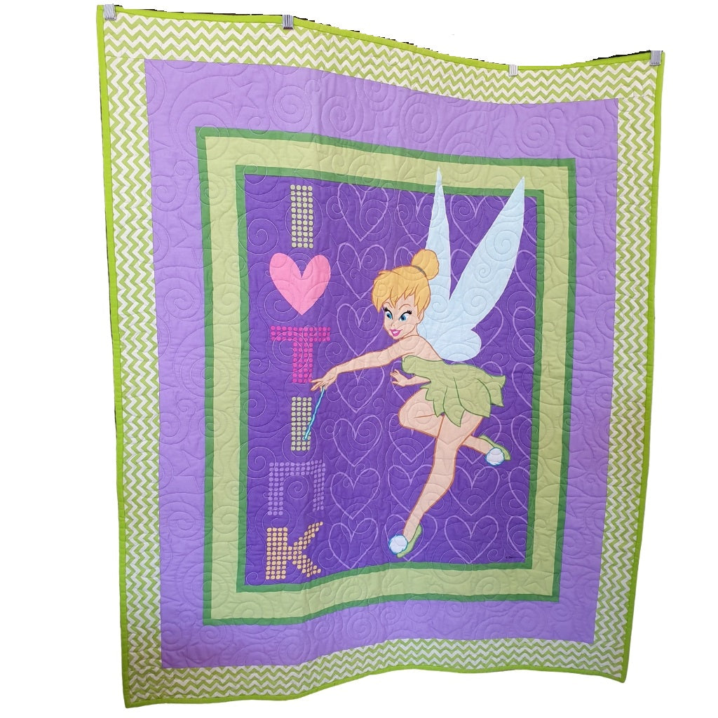 Tinkerbell Quilt | Little Brown Goose
