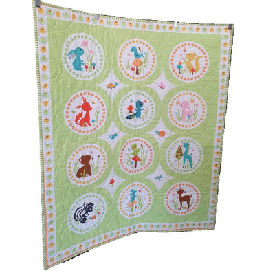 Woodland Animals Quilt | Little Brown Goose