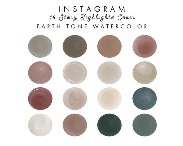 16 Earth Tone IG Highlights