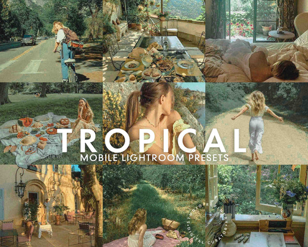 5 Lightroom Presets Tropical for Mobile Lightroom