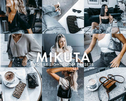 5 Lightroom Presets MIKUTA for Mobile Lightroom