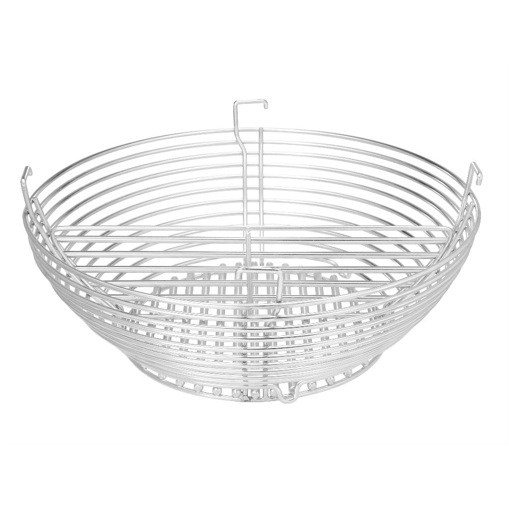 Stainless Steel Charcoal Basket with divider