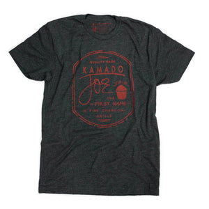 The First Name T-Shirt - Charcoal