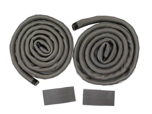 Wire Mesh Gasket Kit with 2 gasket rolls and connecting patches.