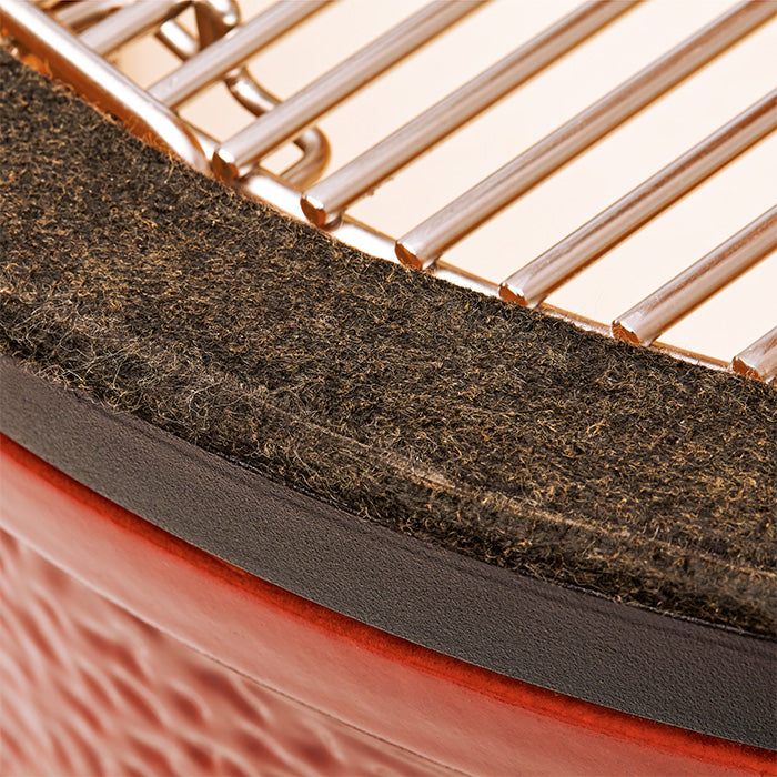 Kamado Joe Big Classic I, close up felt gasket
