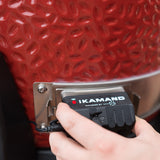 View image The iKamand being attached to a Big Joe grill