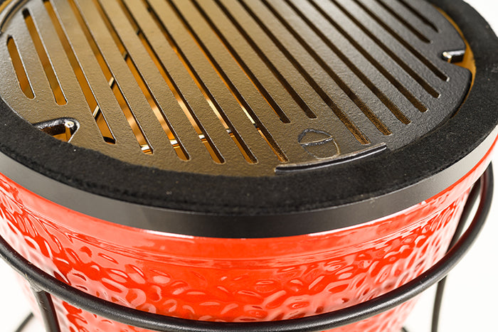 Kamado Joe® Sear Plate in place on a ceramic grill