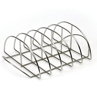 Product shot of the Stainless Steel Rib Rack