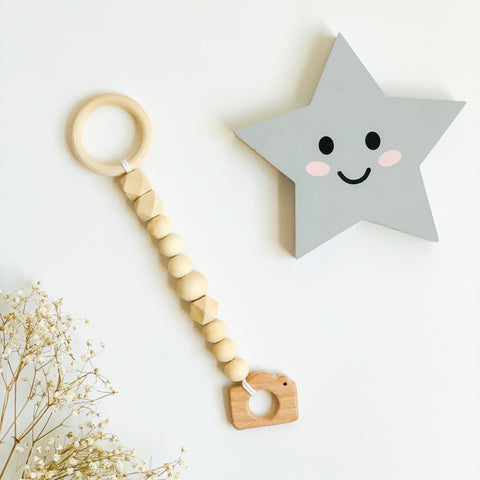 Little Camara Wooden Teething Toy