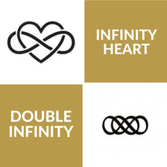 Infinity heart and double infinity